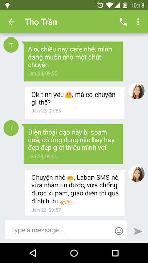 Laban SMS: spam blocker screenshot 3
