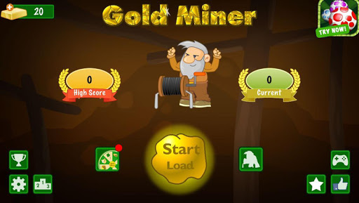 Gold Miner Classic: Gold Rush - Mine Mining Games (Mod)