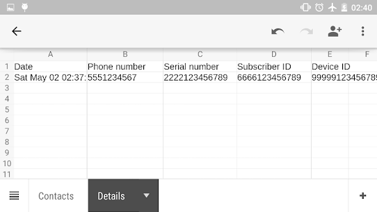 Contacts To Excel 2