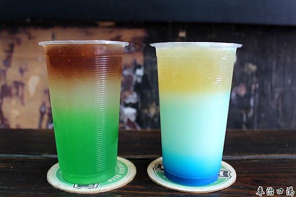 美麗的碧海藍天迎接夏天,特色飲料店。台南中西區 專治口渴