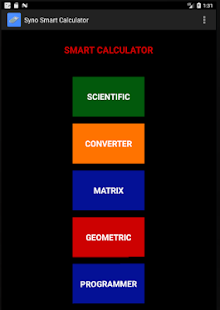 Syno Smart Calculator - náhled