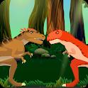 Dino Instinct Combat: Allosaurus vs Carnotaurus icon