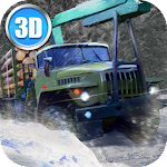Winter Timber Truck Simulator Icon