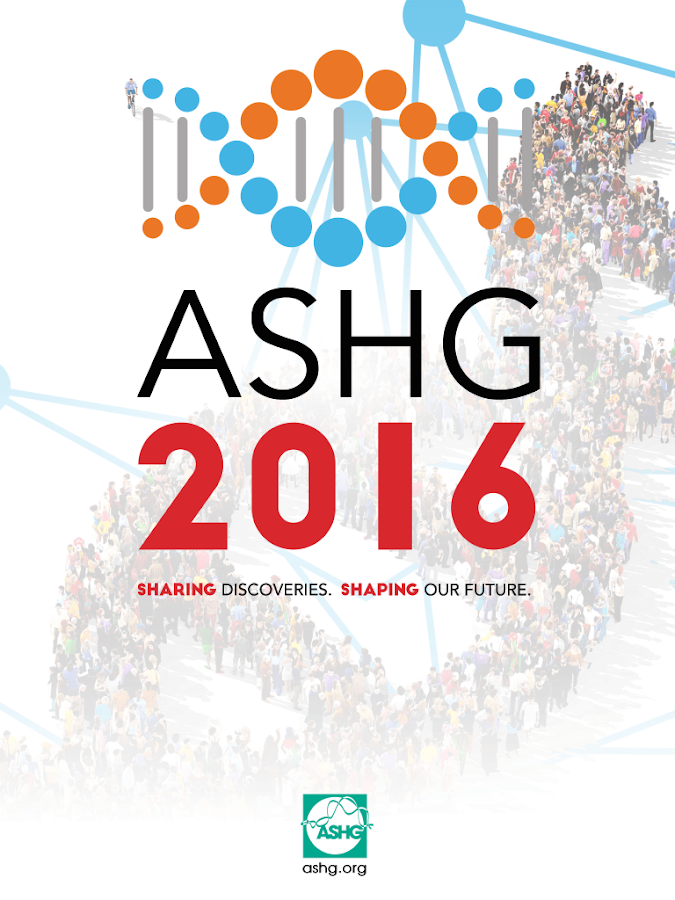 ASHG 2016 Mobile App- screenshot