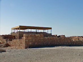 Photo: Excavations at Masada are ongoing.