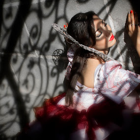 Snow White by Richard Gatmaitan - People Portraits of Women
