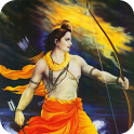 Shri Ram bhajan audio app icon