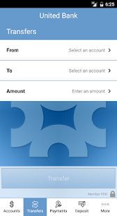United Bank Mobile Banking- screenshot thumbnail
