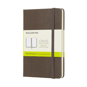 Classic Hard Cover Pocket Plain Brown