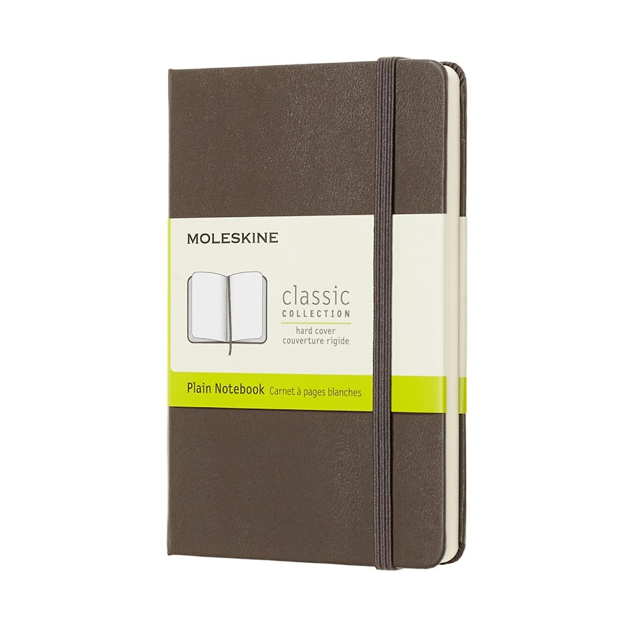 Classic Hard Cover Pocket Brown