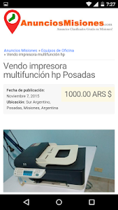 Anuncios Misiones screenshot 3