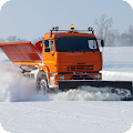 Snow Removal Truck Clean Road APK