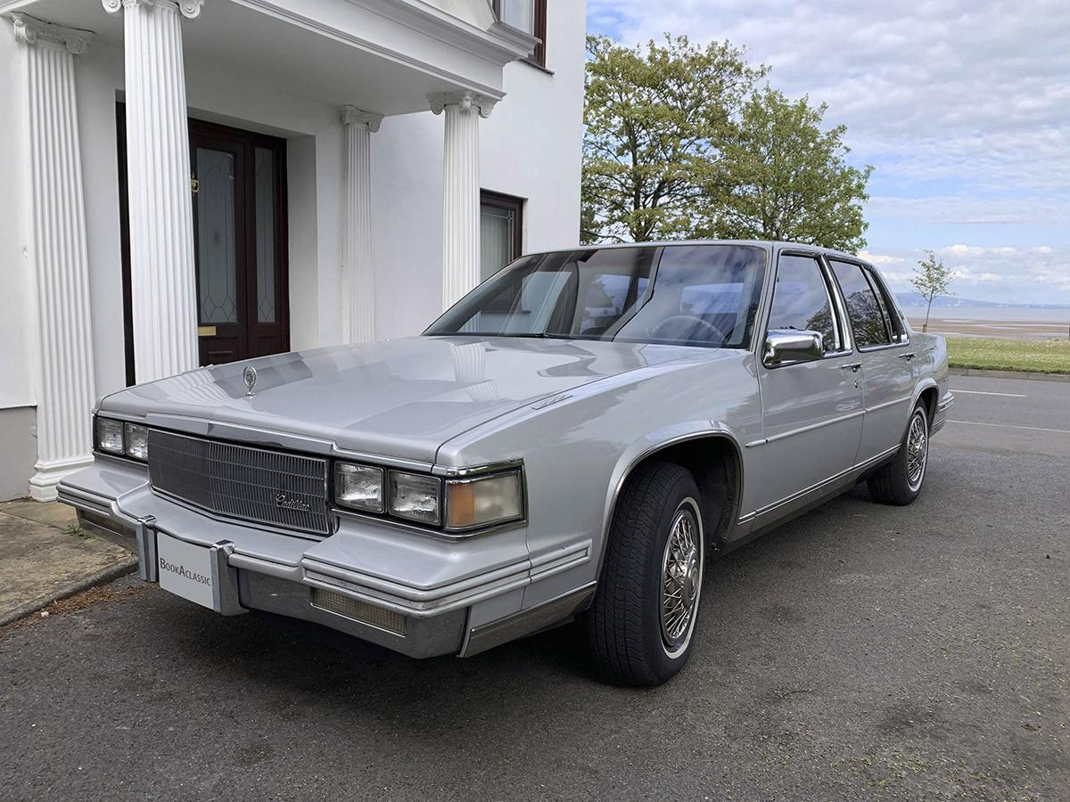 Cadillac Sedan Deville Hire Swansea