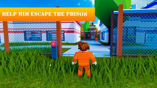 Jailbreak Prison Escape Survival Rublox Runner Mod 1.5 screenshots 1