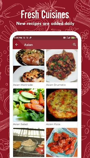Asian Recipes 41.0.0 screenshots 5