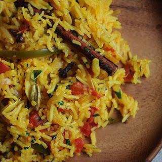 Tomato Rice (Tamatar Biryani).