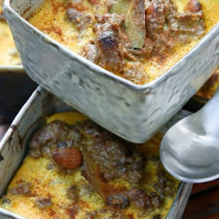 African Beef Mince Bake.