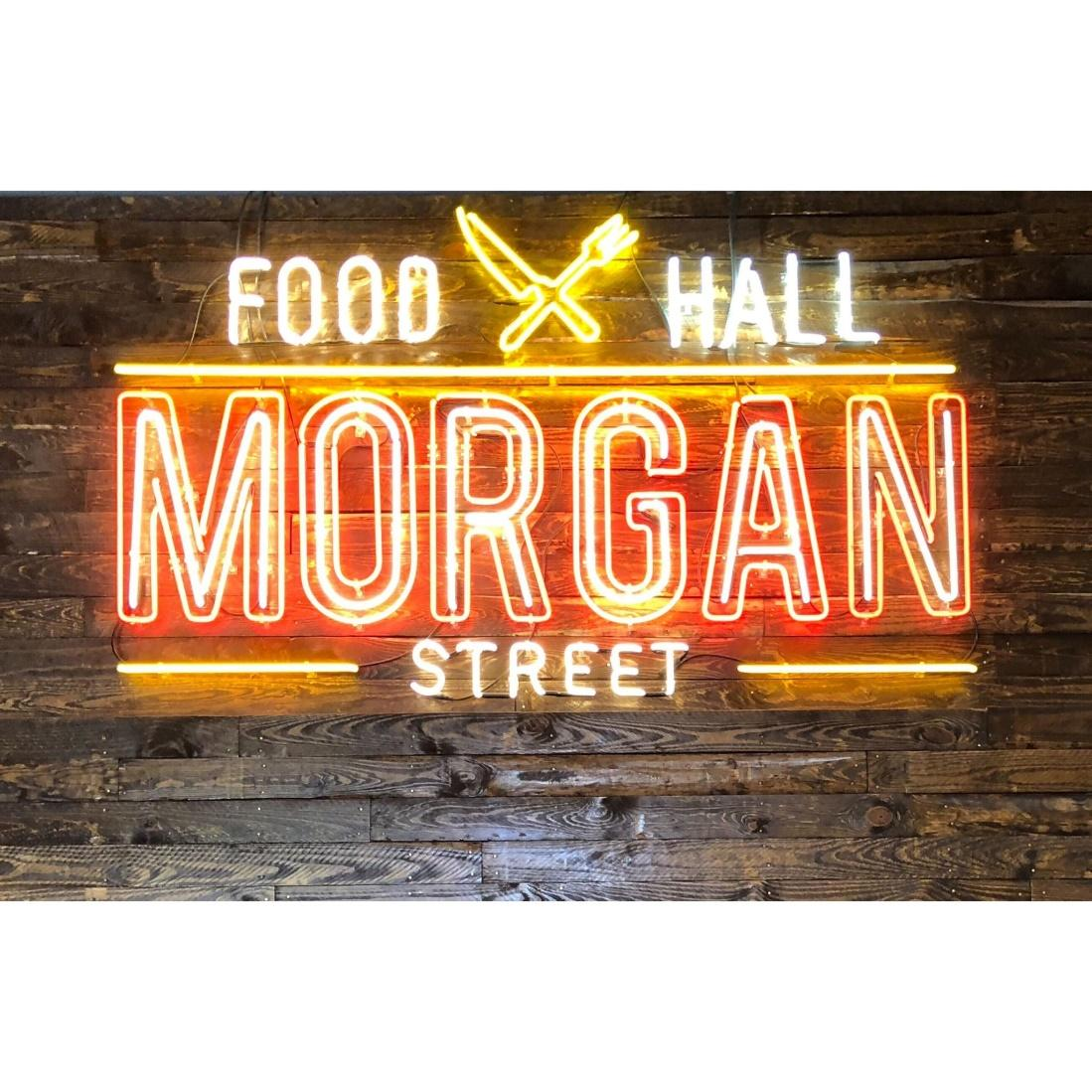 Morgan Street Food Hall puts 19 restaurants and 15 specialty vendors under one roof to serve up some of the best local food in Raleigh. The Food Hall is open Daily.