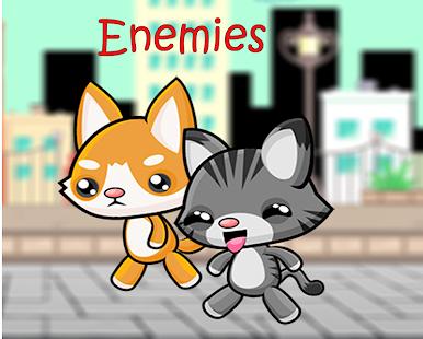 Super Cat vs City Enemies - náhled