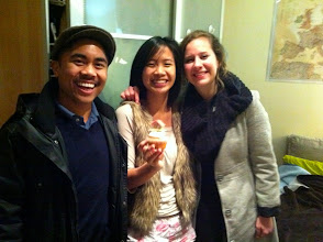 Photo: The time when Suz & Greego surprised me on my birthday.