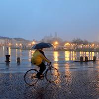 Padova.....in bicicletta anche sotto la pioggia di Elisabetta Castellano