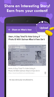 Slide - Earn Free Recharge with Lockscreen!- screenshot thumbnail
