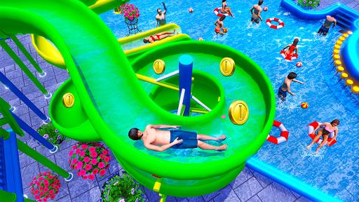 Water Sliding Adventure Park - Water Slide Games android2mod screenshots 1