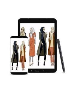 Dress Hijab Design - náhled