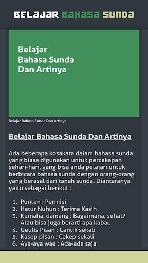 Terima Kasih Sunda : terima, kasih, sunda, ✓[2020], Belajar, Bahasa, Sunda, Download, Android, [Latest]