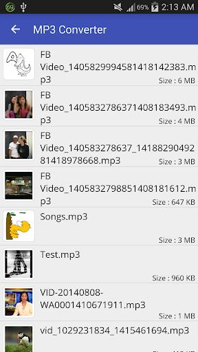 Video to MP3 Converter - MP3 Tagger 1.6.3A screenshots 4