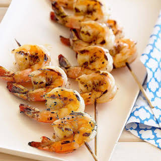 Spicy Grilled Shrimp.