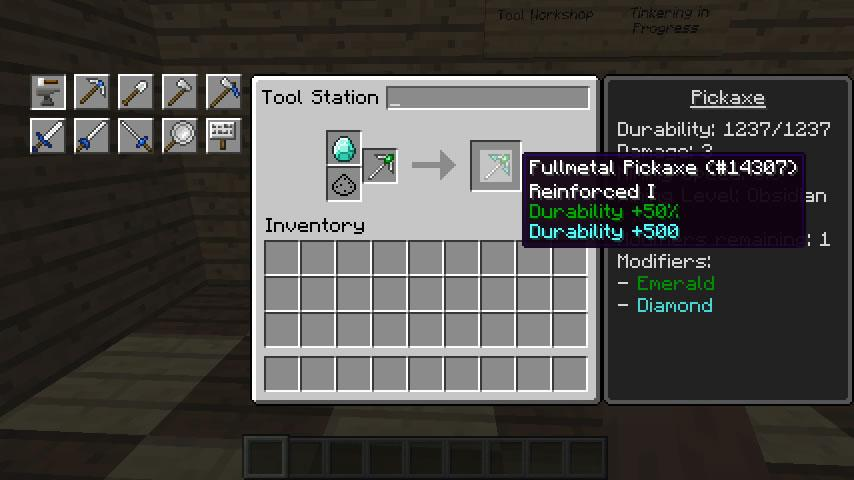 android Tinkers mod Minecraft Ideas Screenshot 1