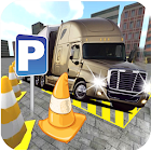 Truck & Trailer Parking Simulator 3D: Offroad icon