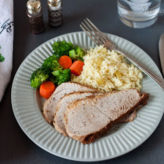 Pork Sirloin Tip Roast in the Pressure Cooker