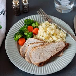 Pork Sirloin Tip Roast in the Pressure Cooker