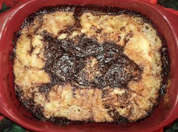 Old Fashion Chocolate Cobbler