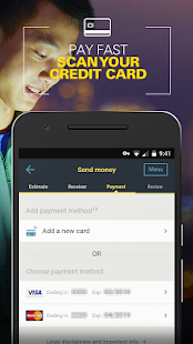 Money Transfer WesternUnion CA- screenshot thumbnail
