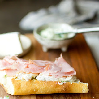 Ham and Brie Baguette.