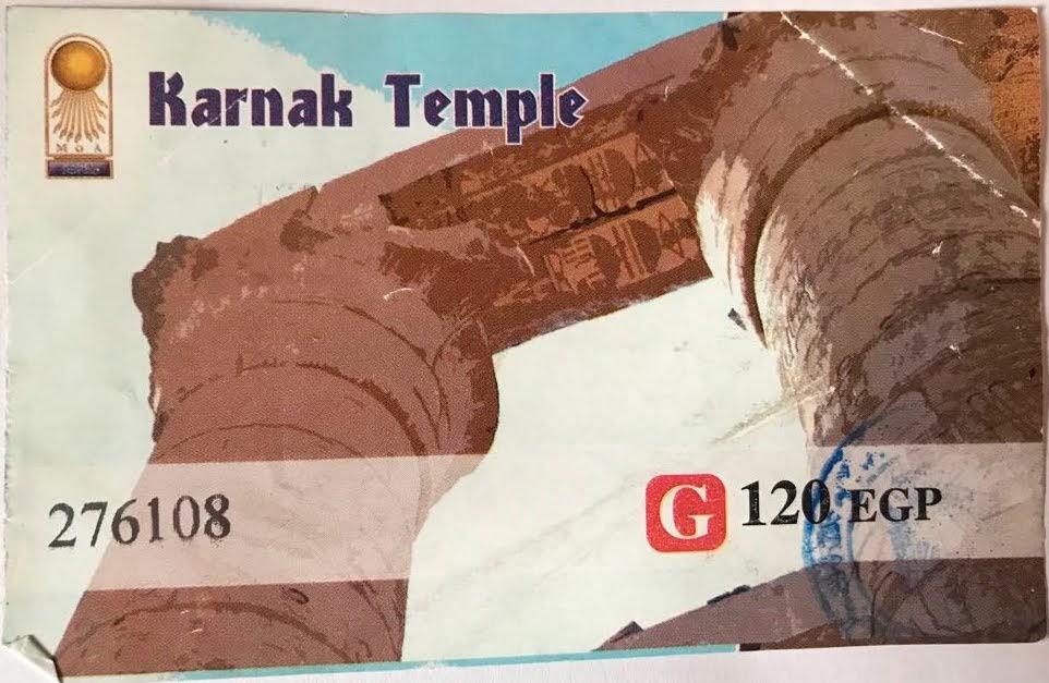 Karnak Entry Ticket