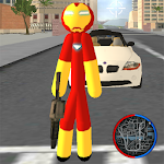 Iron Stickman Rope Hero Gangstar Crime 4.0