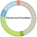 Period and Ovulation icon