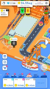 Idle Port Tycoon Mod Apk Download For Android and Iphone 3