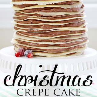 Christmas Crepe Cake Recipe with Eagle Brand's Limited Edition Sweetened Condensed Milks!