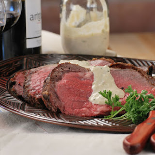 Holiday Roast Prime Rib with Sauce Raifort