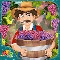 Crianças uvas fazenda sonho icon