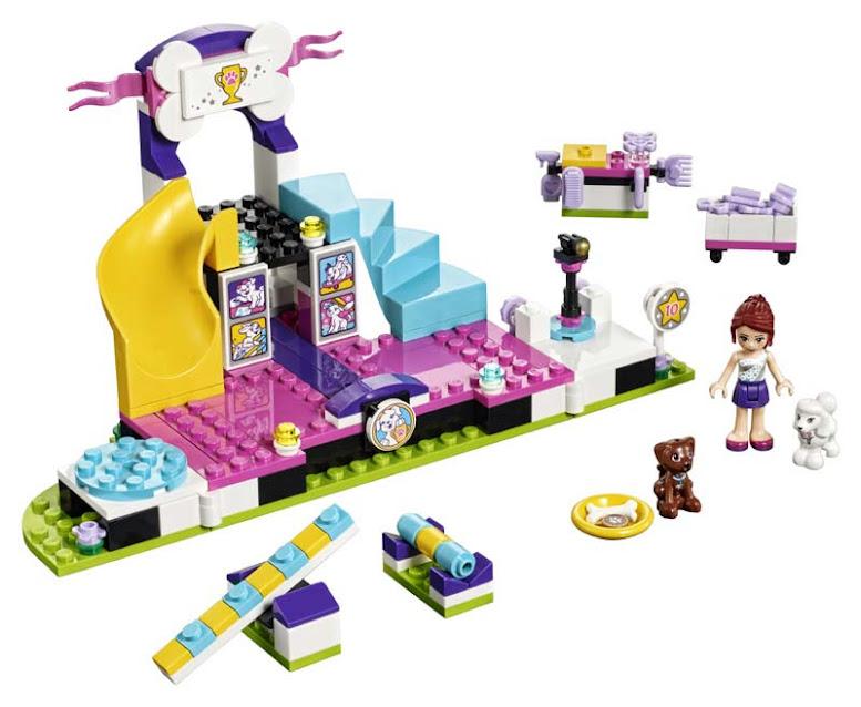 Contenido de Lego® 41300 Campeonato de Mascotas