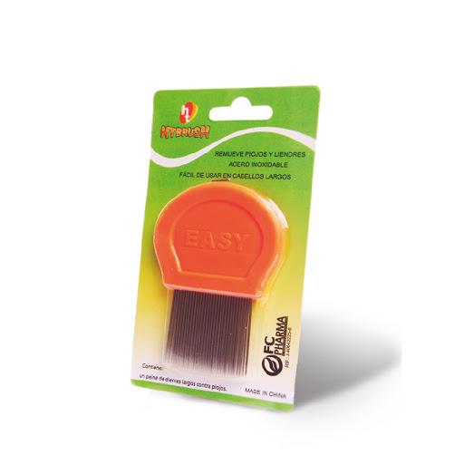 accesorio peine para piojos htbrush