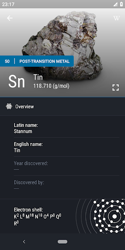 Screenshot for Periodic Table 2019 PRO - Chemistry in Hong Kong Play Store