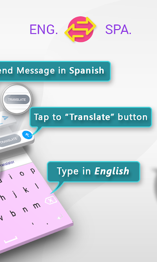 Spanish English Translator Keyboard ss2