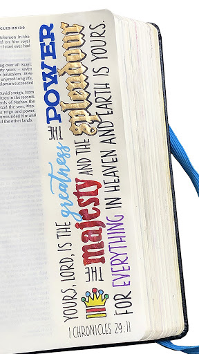 Bible Journaling 13: Chronicles